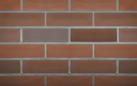Клинкерная плитка для фасада ABC klinkergruppe Feuerland Rotbunt glatt, 240x71x7