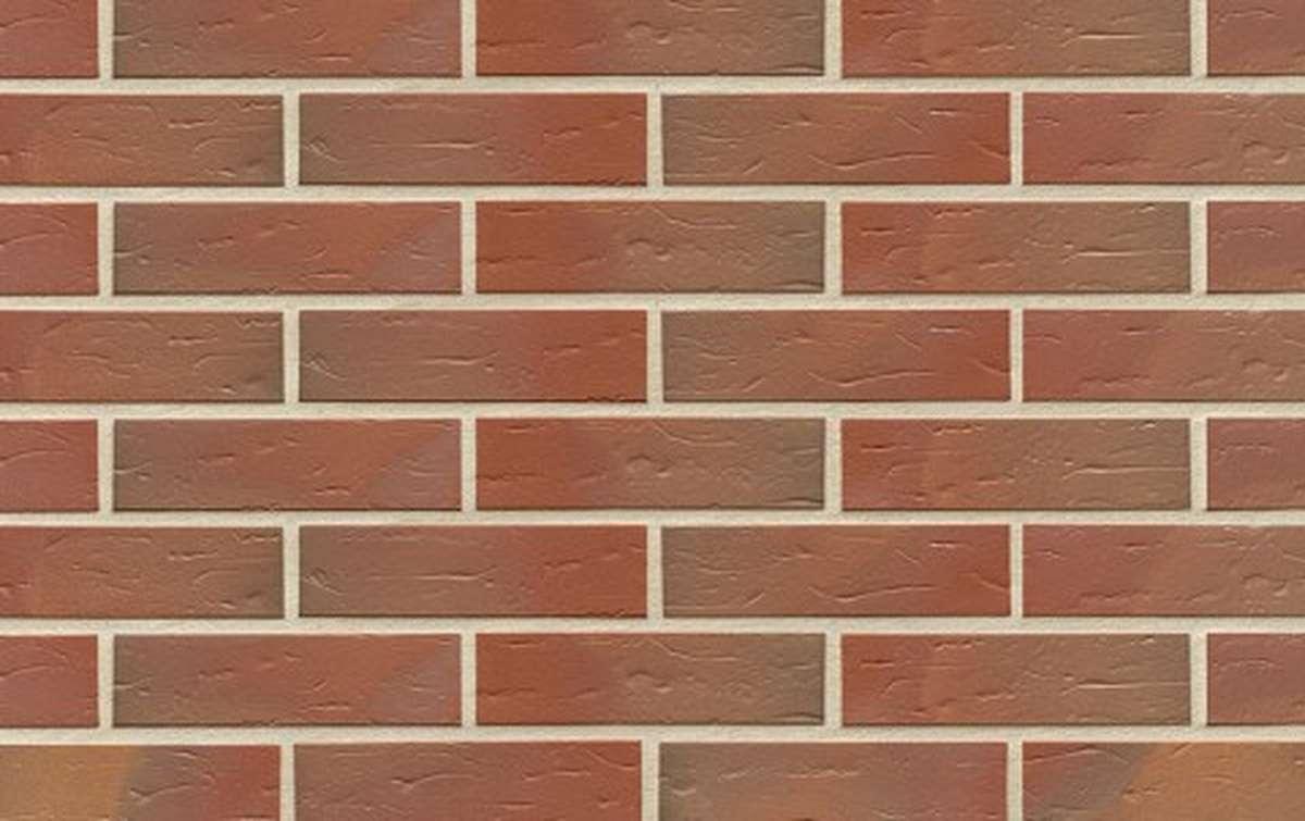 Клинкерная плитка для фасада ABC klinkergruppe Borkum genarbt, 240x71x10
