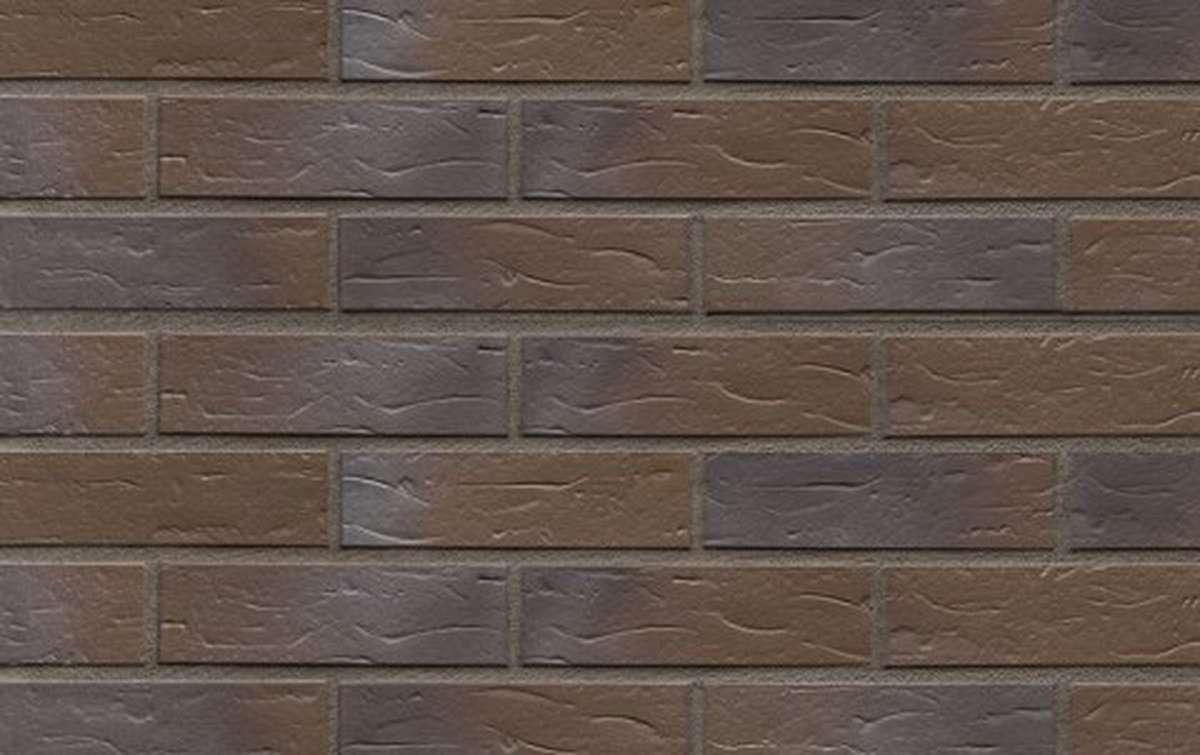 Клинкерная плитка для фасада ABC klinkergruppe Baltrum genarbt, 240x52x10