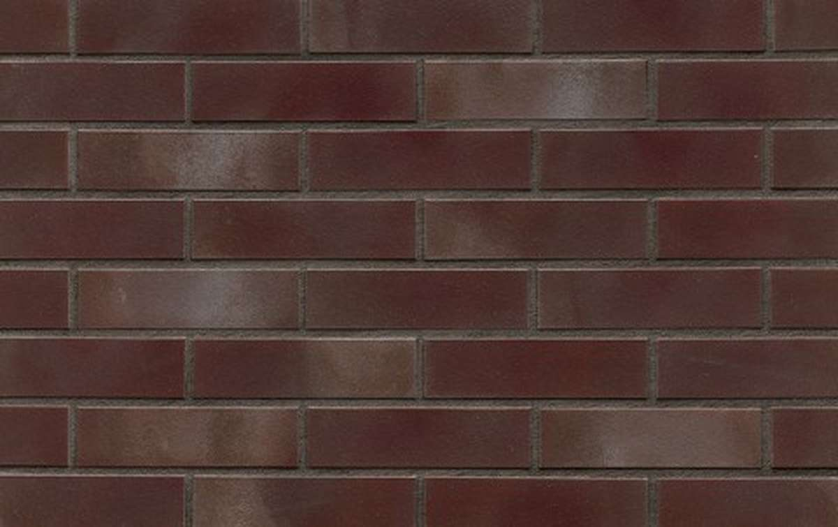 Клинкерная плитка для фасада ABC klinkergruppe Aubergine, 240x52x10