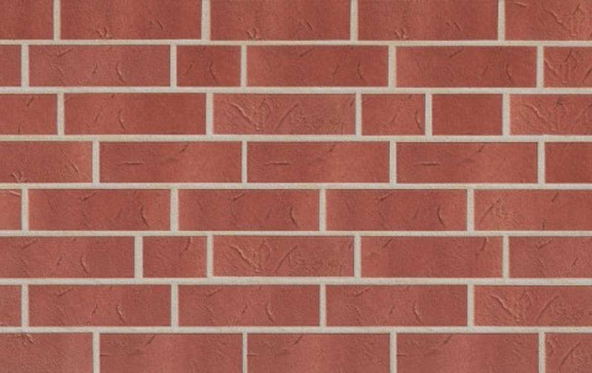 Клинкерная плитка для фасада ABC klinkergruppe Antik Weinrot, 240x71x8