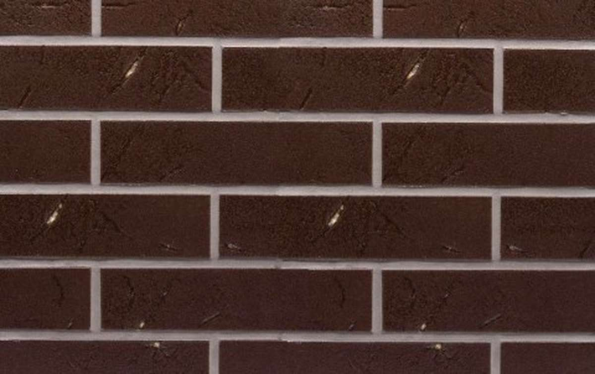 Клинкерная плитка для фасада ABC klinkergruppe Antik Mangan, 240x71x8