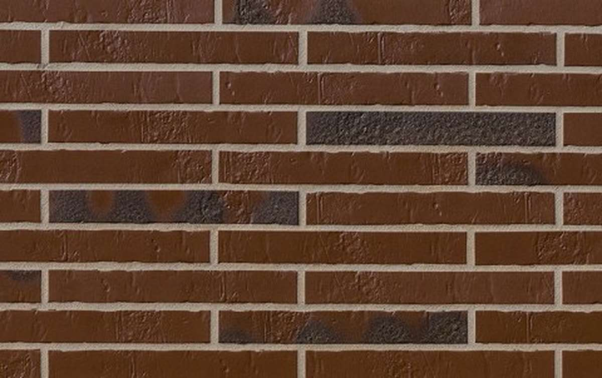 Клинкерная плитка для фасада ABC klinkergruppe Alaska Braun, 240x71x7