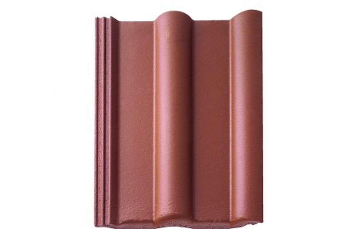 Цементно-песчаная черепица (минеральная) BRAAS  Франкфуртская, коричневый