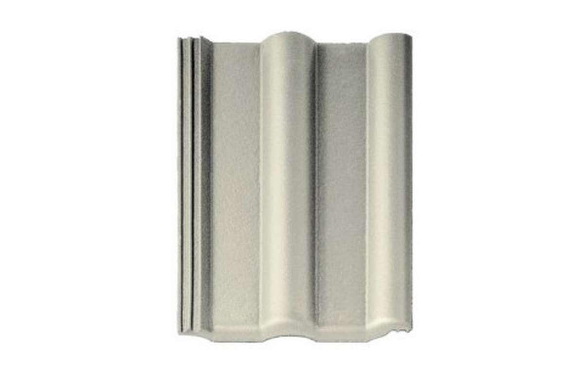 Цементно-песчаная черепица (минеральная) BRAAS  Франкфуртская, серый