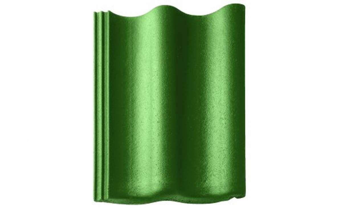 Цементно-песчаная черепица (минеральная) BRAAS  Янтарь, зеленый