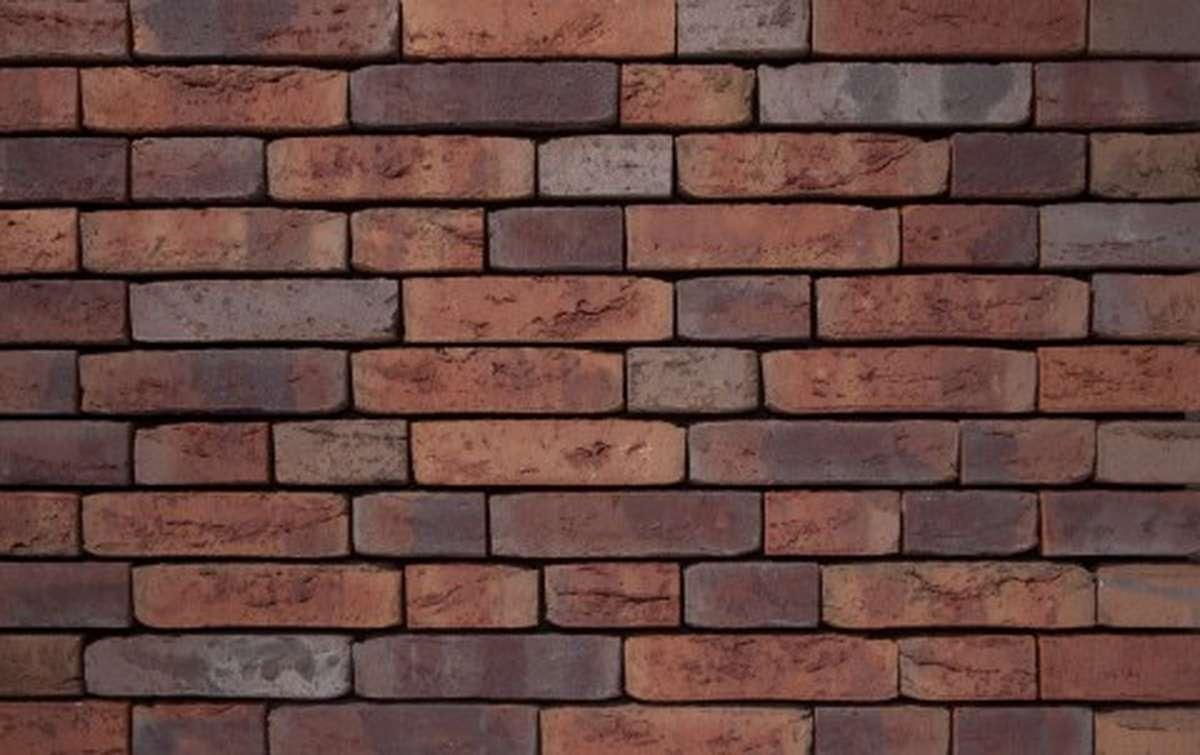 Фасадная плитка ручной формовки vandersanden  513. Billund WS, WF рядовая