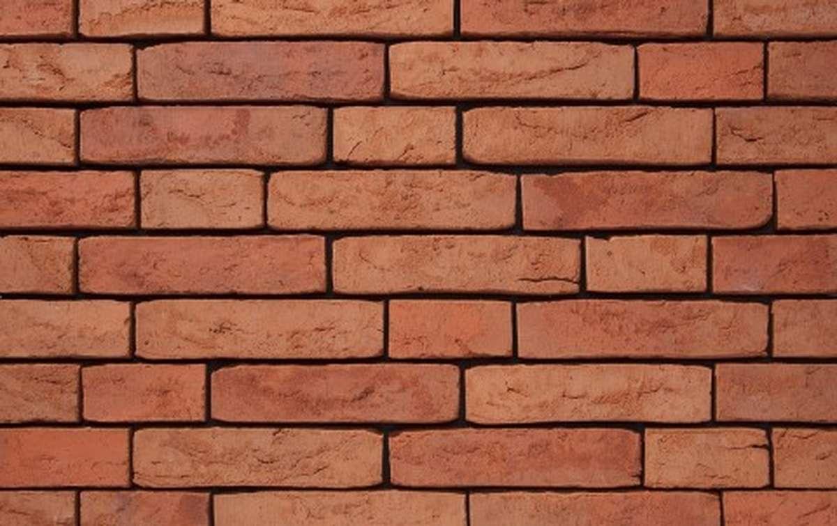 Фасадная плитка ручной формовки vandersanden  511. Aalborg WS, WF рядовая