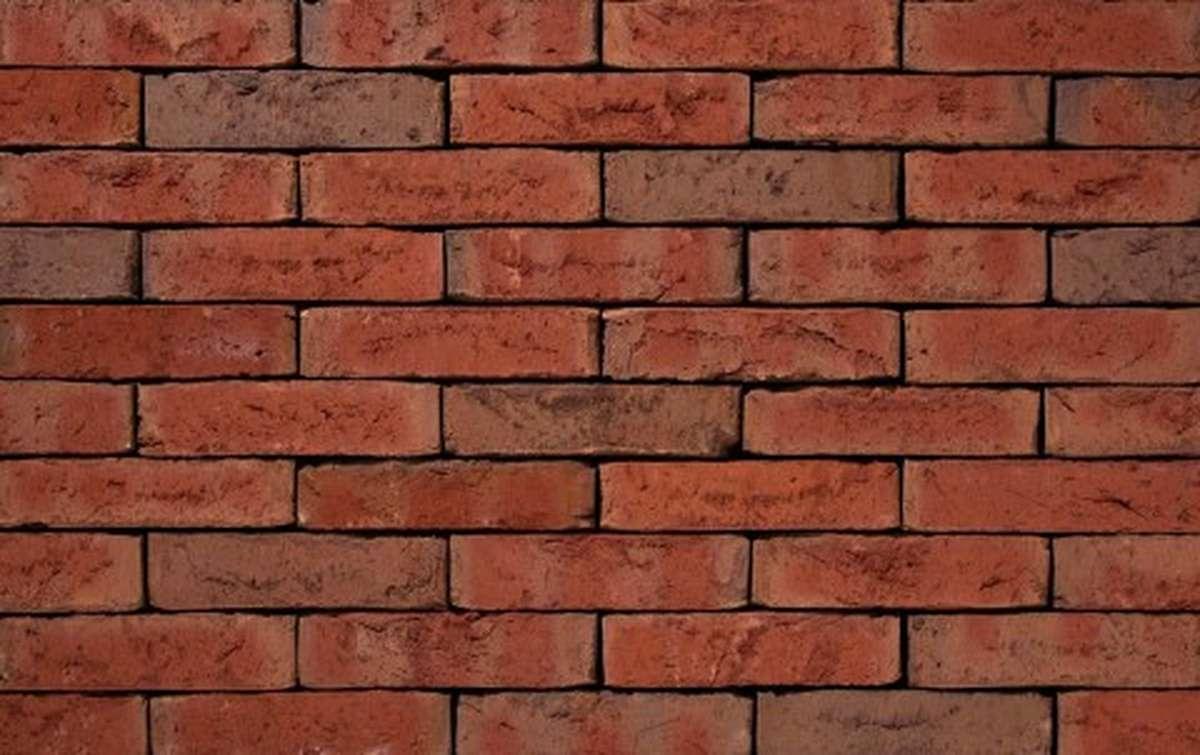 Фасадная плитка ручной формовки vandersanden  523. Exelsa WS, WF рядовая