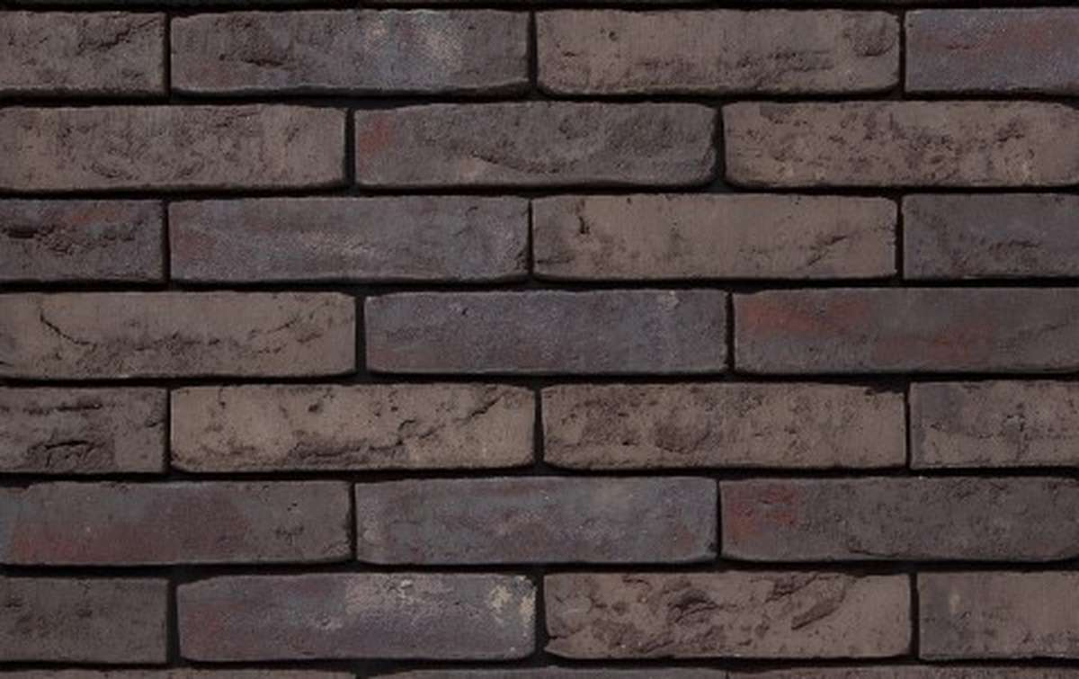 Фасадная плитка ручной формовки vandersanden  515. Herning WS, WF рядовая