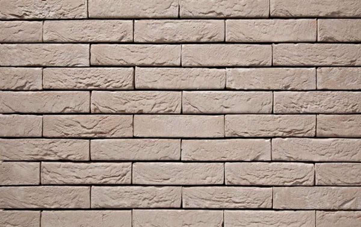 Фасадная плитка ручной формовки vandersanden  43. Argentis, WF рядовая