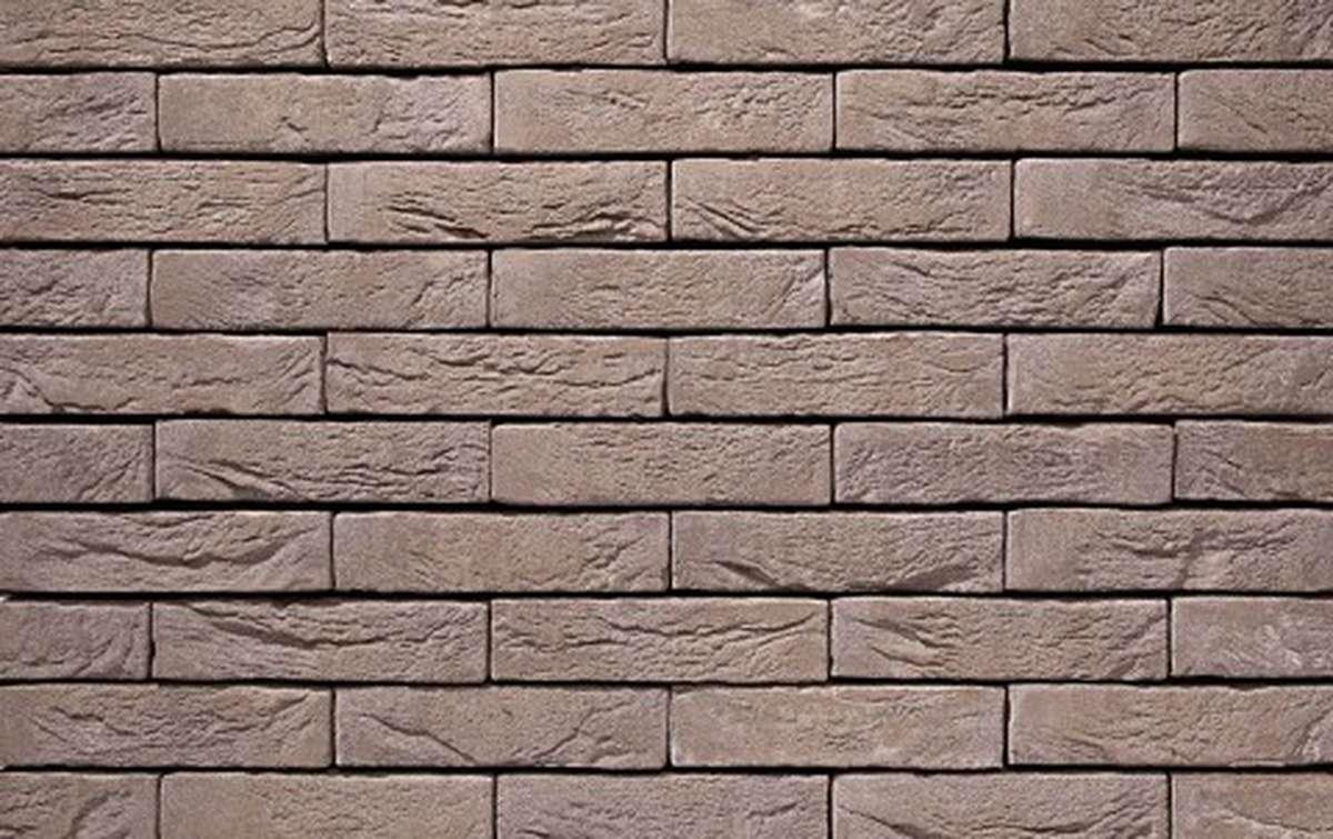 Фасадная плитка ручной формовки vandersanden  4. Platina, WF рядовая