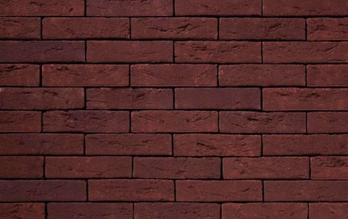 Фасадная плитка ручной формовки vandersanden  583. Touraine, WF рядовая