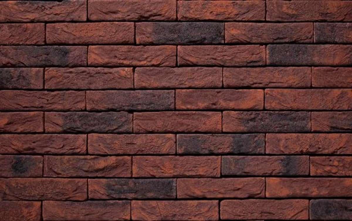 Фасадная плитка ручной формовки vandersanden  47. Salvia Gesinteld, WF рядовая