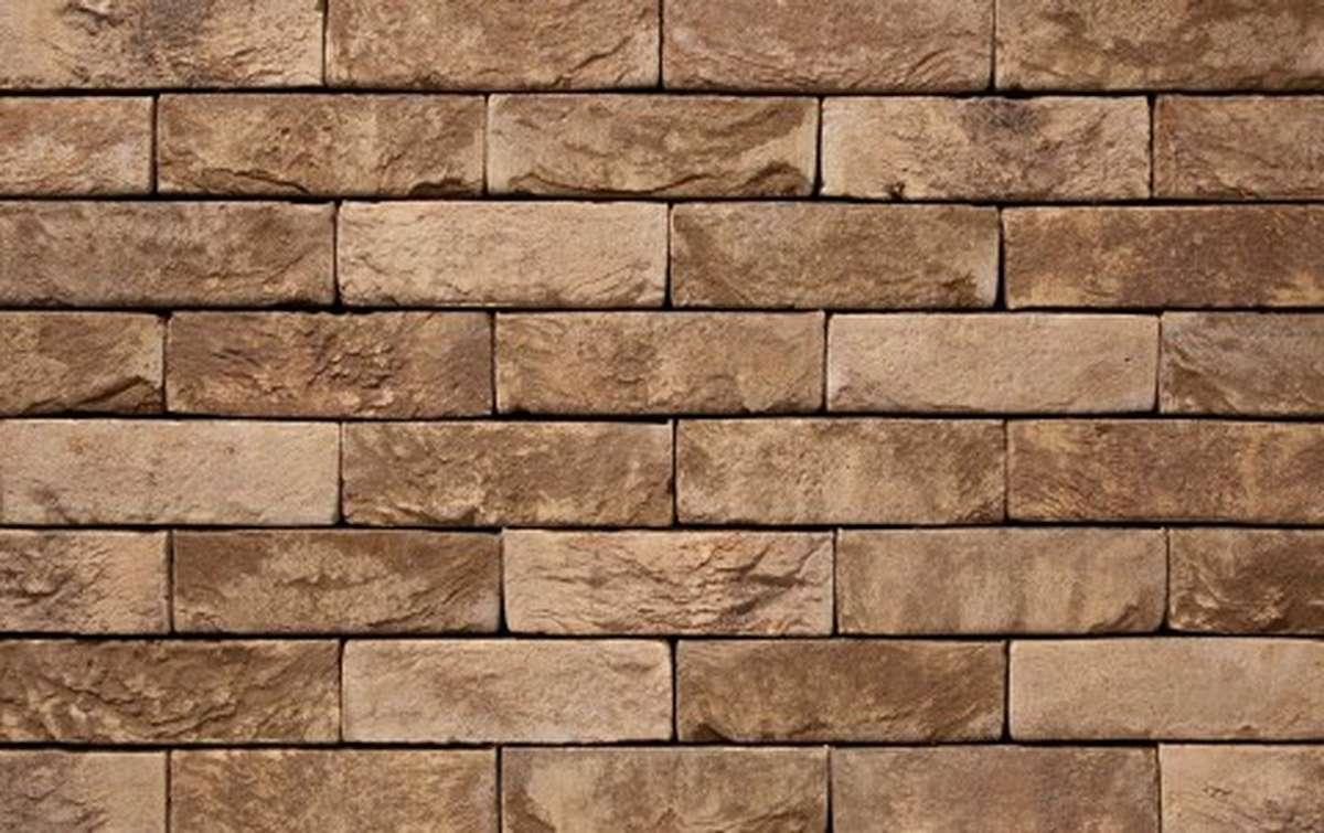 Фасадная плитка ручной формовки vandersanden  74. Sao Paulo, WF рядовая
