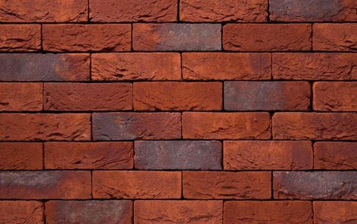 Фасадная плитка ручной формовки vandersanden  96. Brabant, WF рядовая
