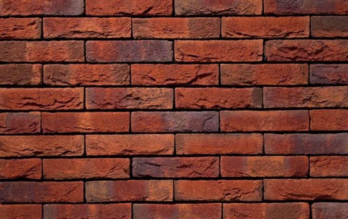 Фасадная плитка ручной формовки vandersanden  565. Reno, WF рядовая