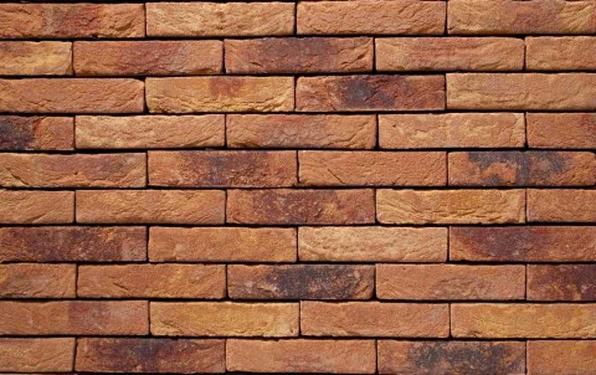 Фасадная плитка ручной формовки vandersanden  29. Primula, WF рядовая