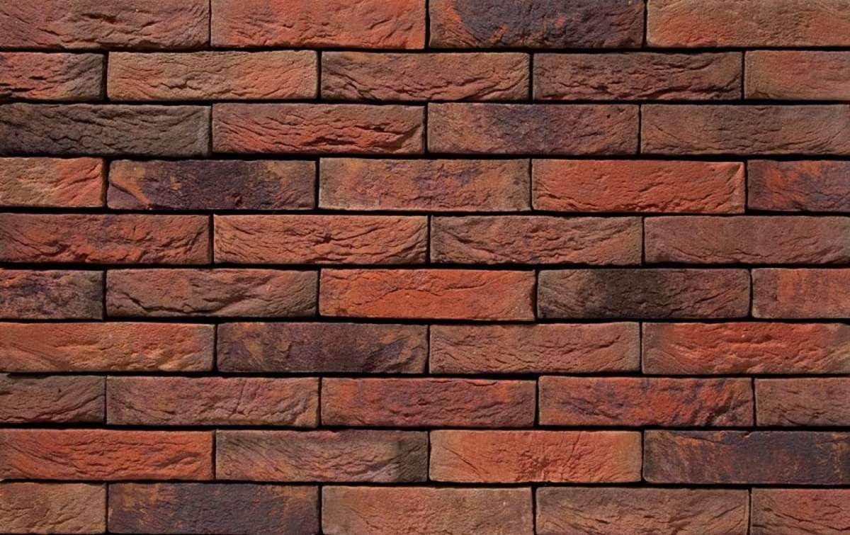 Фасадная плитка ручной формовки vandersanden  13. Viola, WF рядовая