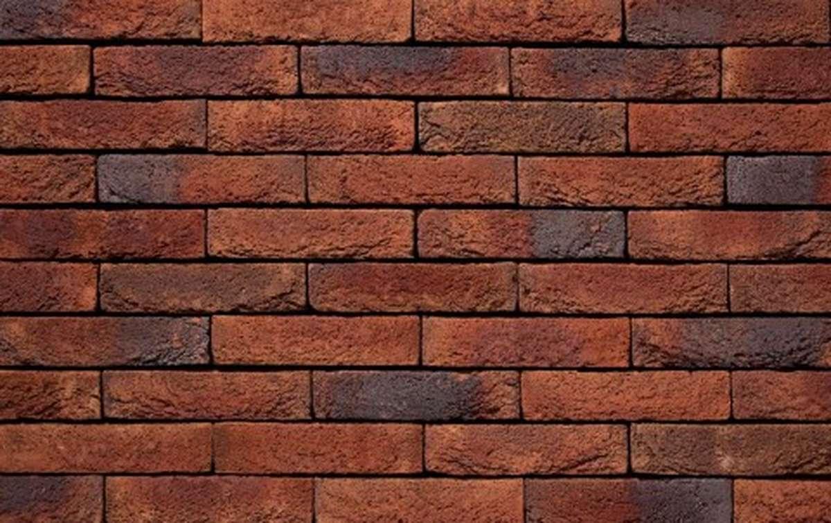 Фасадная плитка ручной формовки vandersanden  59. Milano, WF рядовая