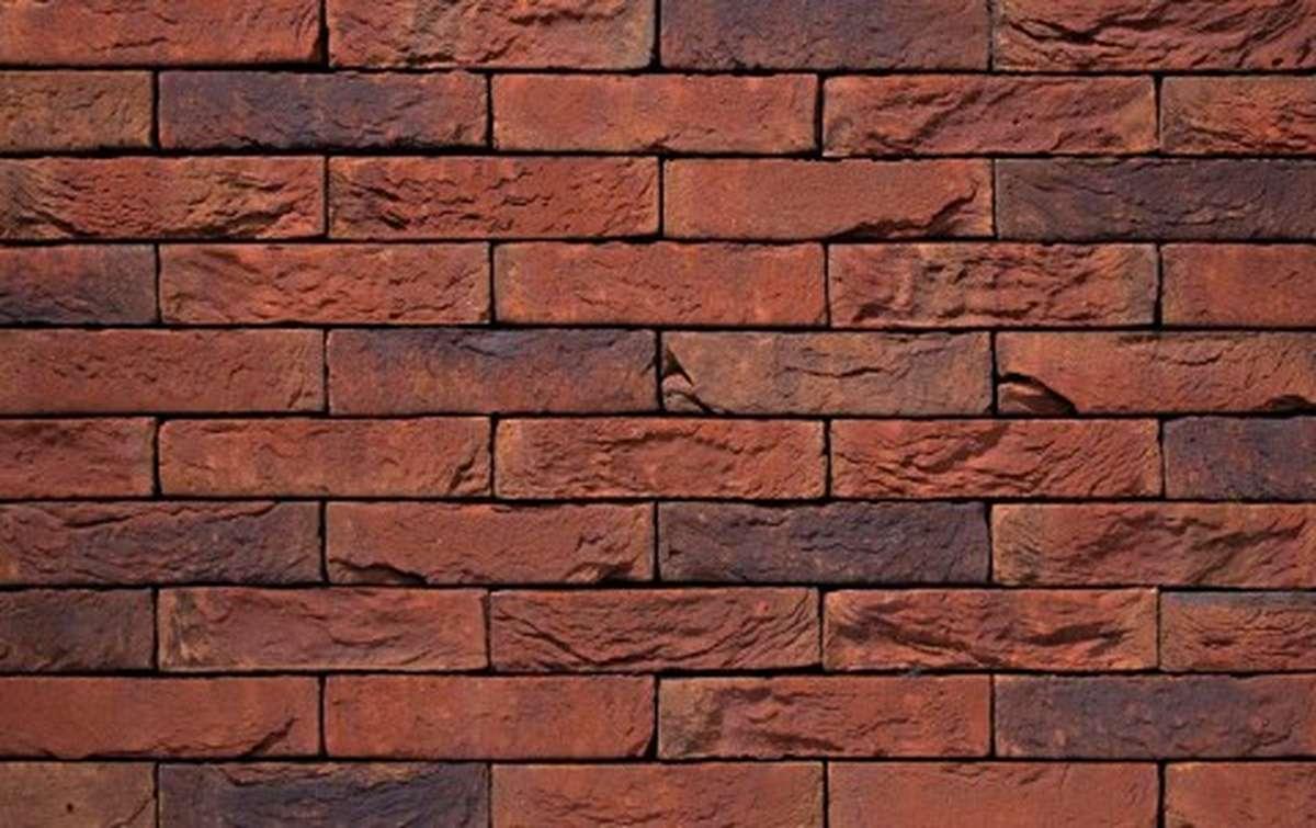 Фасадная плитка ручной формовки vandersanden  68. Safora, WF рядовая