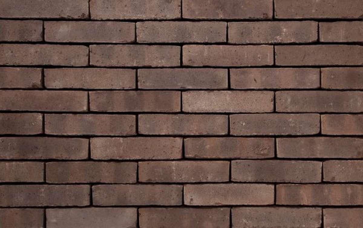 Фасадная плитка ручной формовки vandersanden  516. Flemming WS, DF рядовая