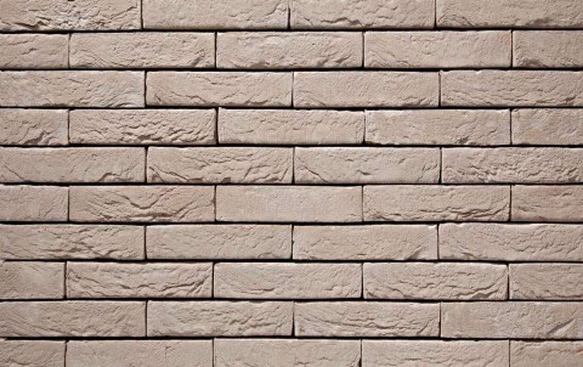 Фасадная плитка ручной формовки vandersanden  43. Argentis, DF рядовая