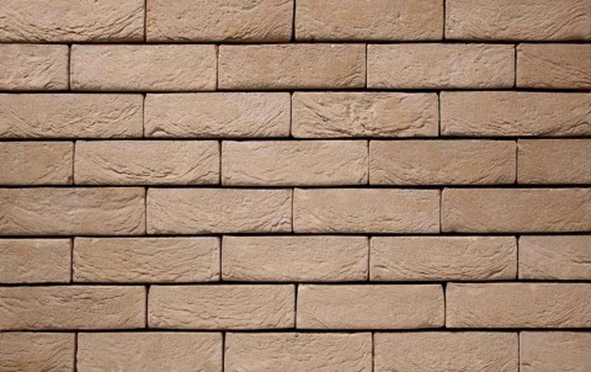 Фасадная плитка ручной формовки vandersanden  58. Mistral, DF рядовая