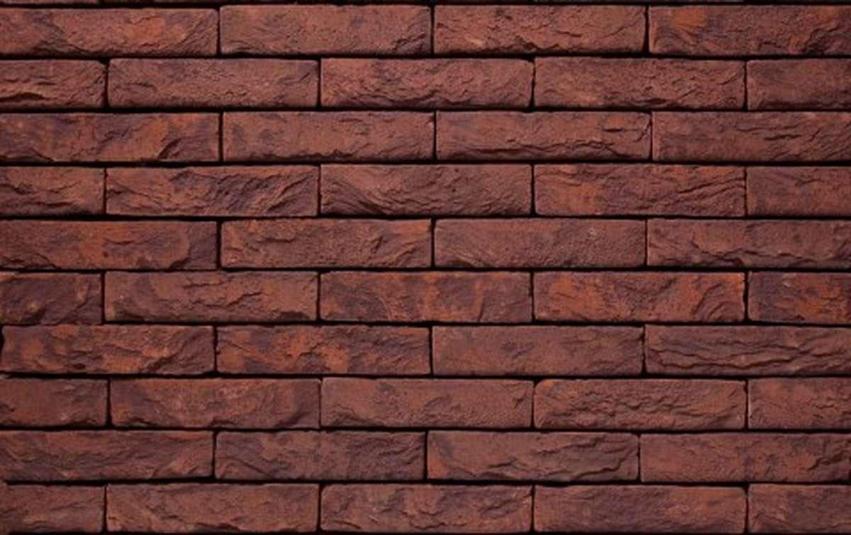 Фасадная плитка ручной формовки vandersanden  35. Salvia, DF рядовая