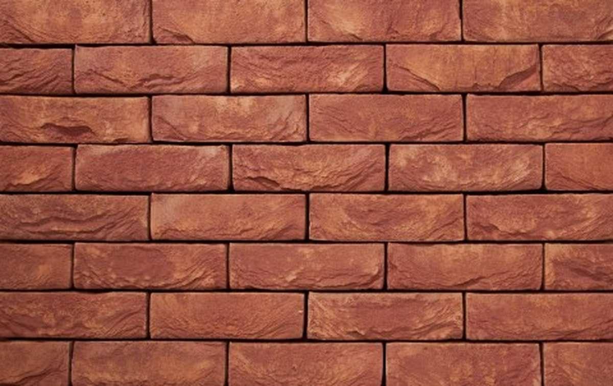 Фасадная плитка ручной формовки vandersanden  126. Floria NEW, DF рядовая