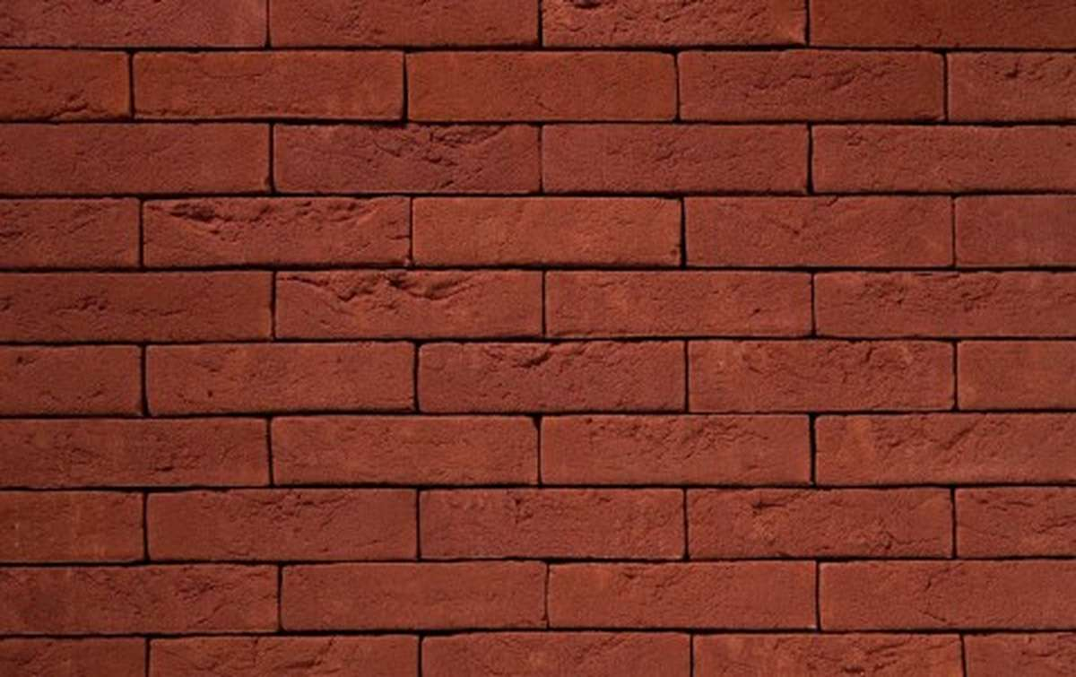 Фасадная плитка ручной формовки vandersanden  522. Bordeaux, WF угловая