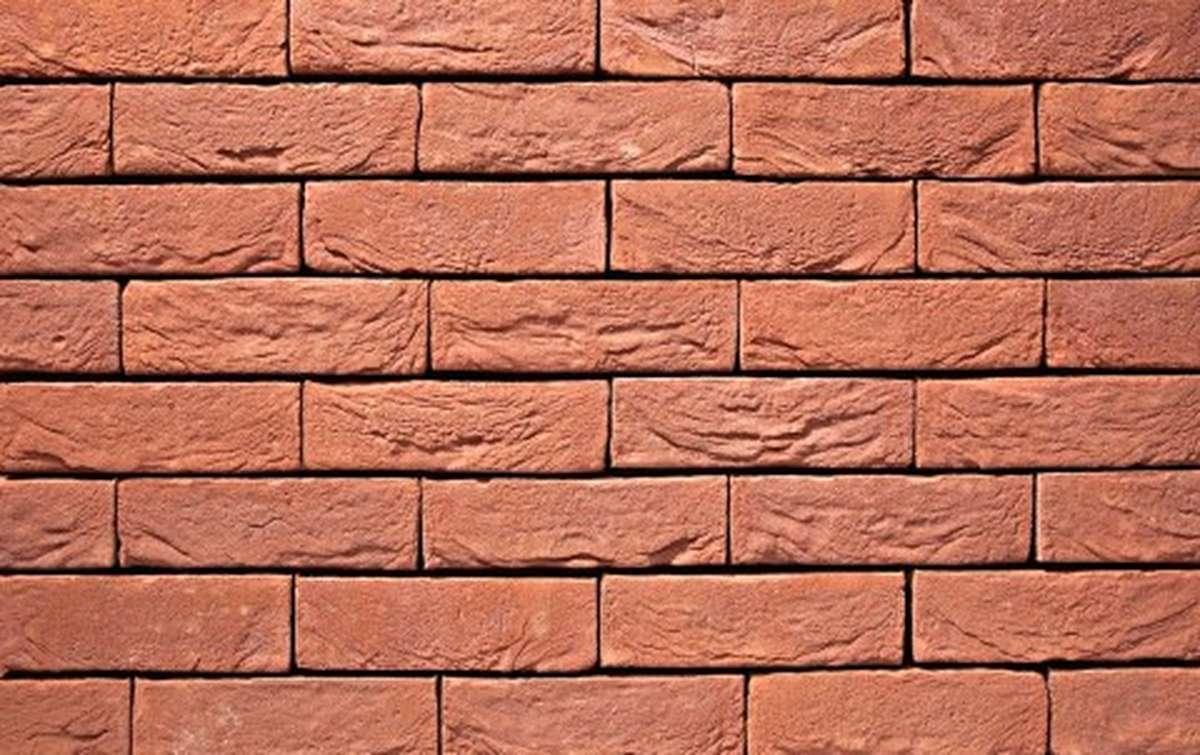 Фасадная плитка ручной формовки vandersanden  2. Heidebloem, DF рядовая