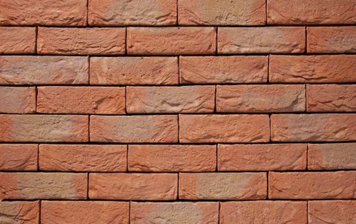 Фасадная плитка ручной формовки vandersanden  22. Lyssoise, DF рядовая