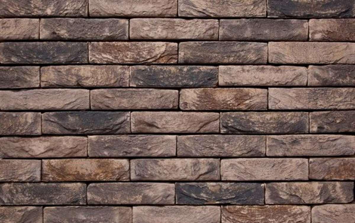 Фасадная плитка ручной формовки vandersanden  45. Lithium, DF рядовая