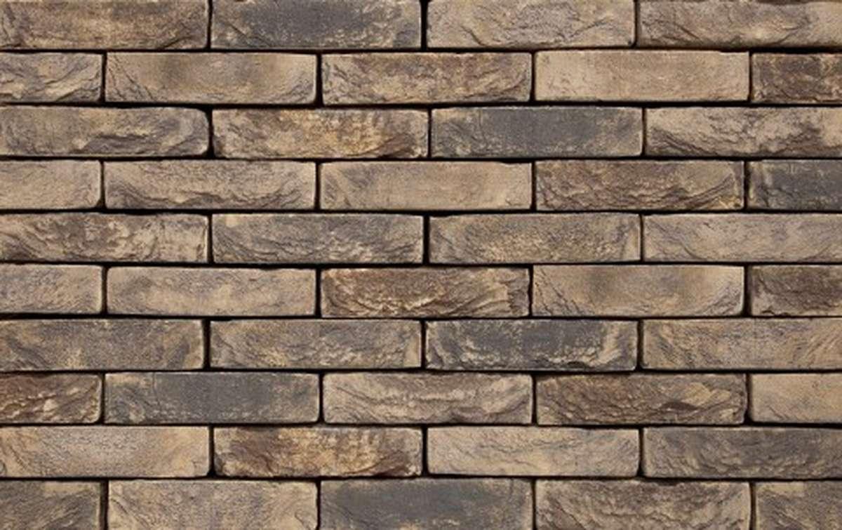 Фасадная плитка ручной формовки vandersanden  122. Brama, DF рядовая