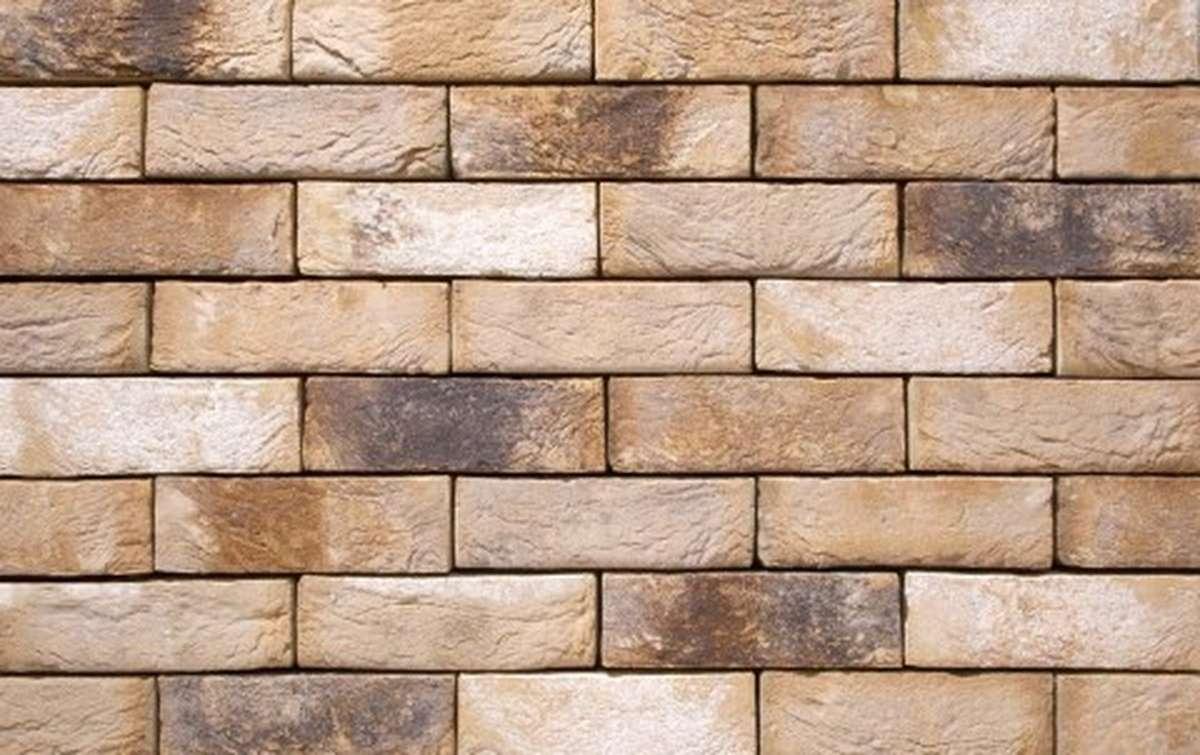 Фасадная плитка ручной формовки vandersanden  81. Ligure, DF рядовая
