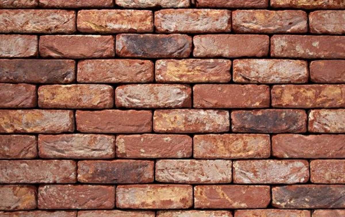 Фасадная плитка ручной формовки vandersanden  40. Oud Maasland, DF рядовая
