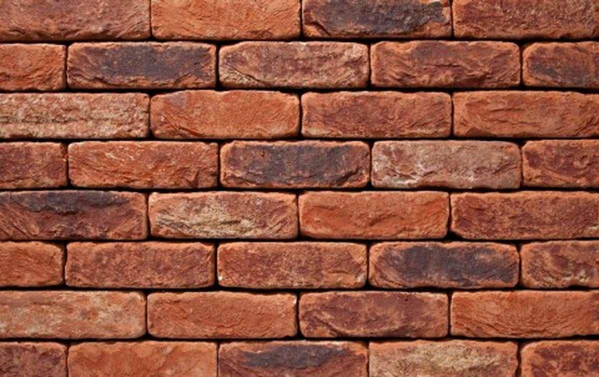 Фасадная плитка ручной формовки vandersanden  70. Oud Herve, DF рядовая