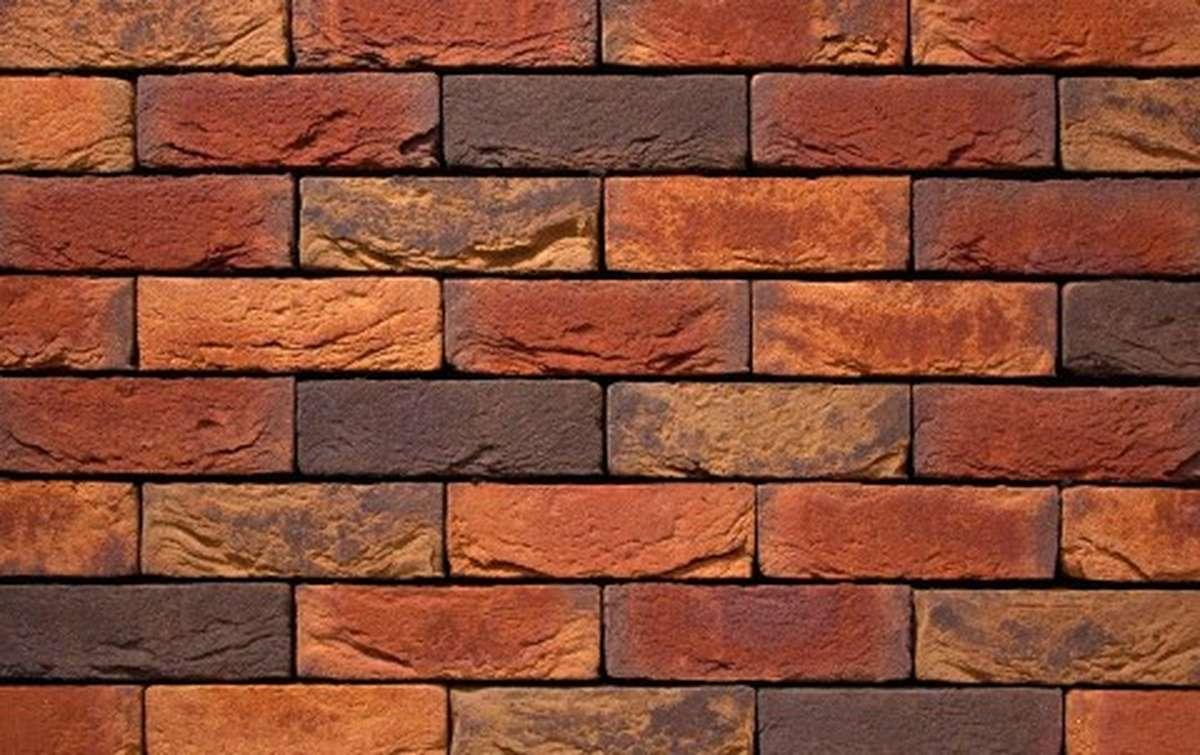 Фасадная плитка ручной формовки vandersanden  594. Victoria, DF рядовая