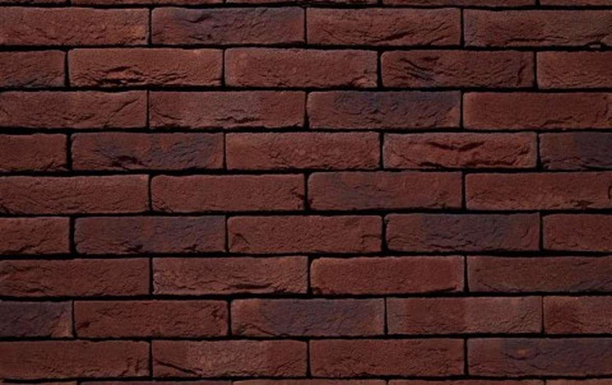 Фасадная плитка ручной формовки vandersanden  596. Cobre, DF рядовая