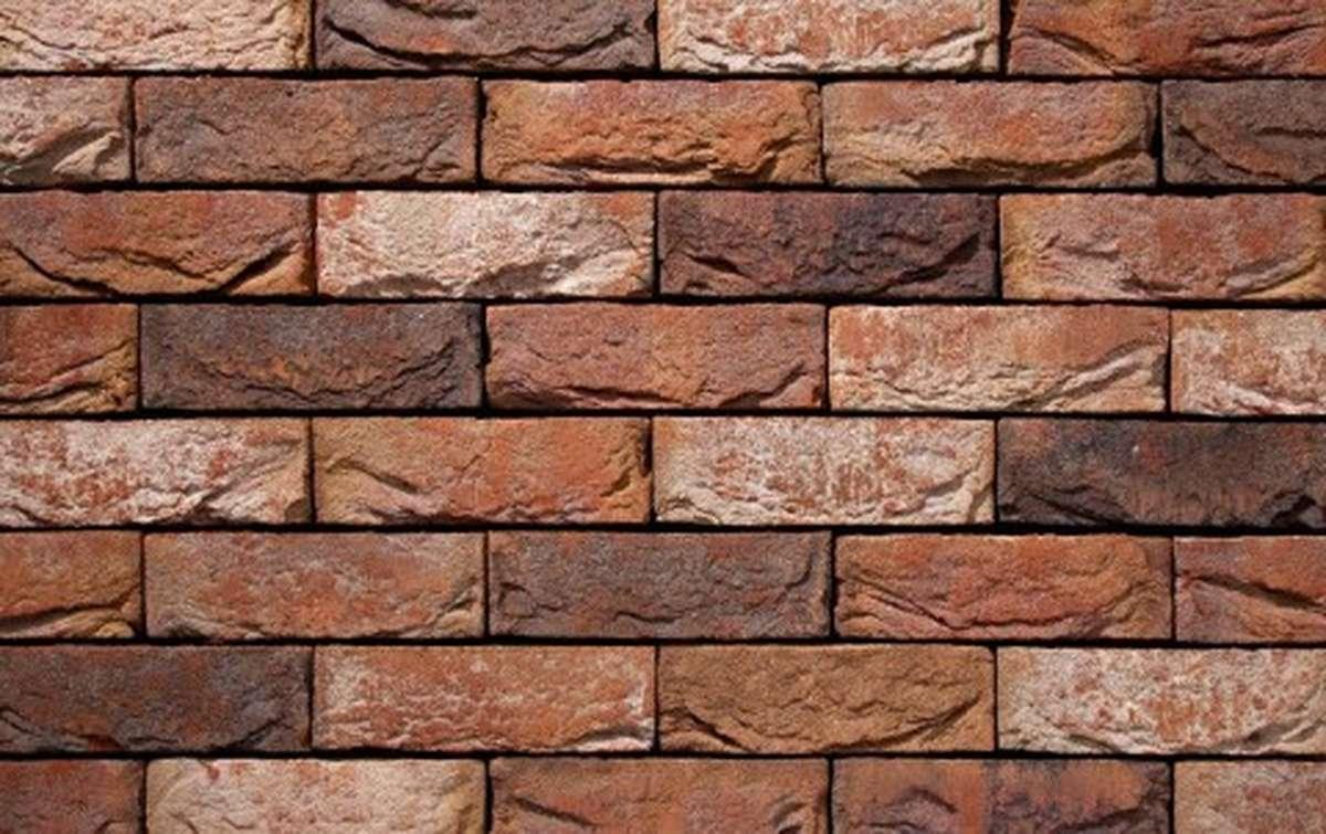 Фасадная плитка ручной формовки vandersanden  587. Alexia, DF рядовая