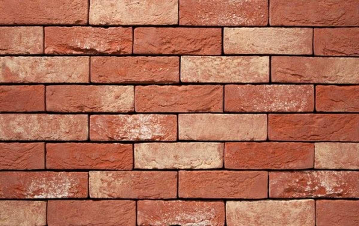 Фасадная плитка ручной формовки vandersanden  61. Affigem, DF рядовая