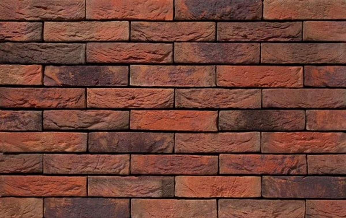 Фасадная плитка ручной формовки vandersanden  13. Viola, DF рядовая