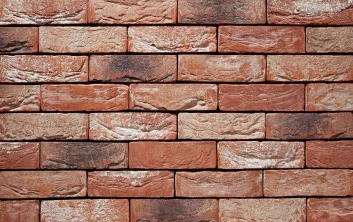 Фасадная плитка ручной формовки vandersanden  24. Barok, DF рядовая