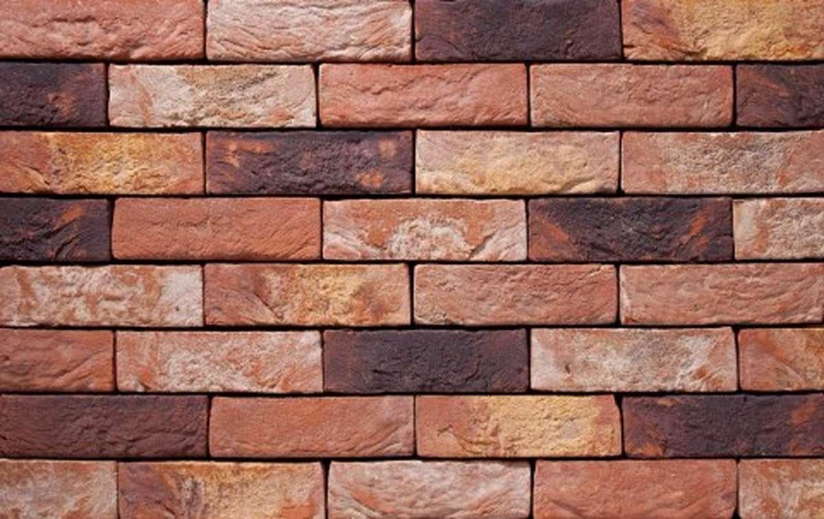 Фасадная плитка ручной формовки vandersanden  25. Zinnia, DF рядовая