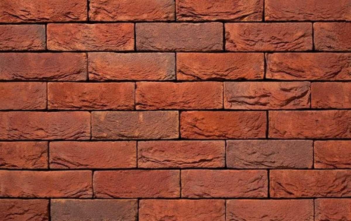 Фасадная плитка ручной формовки vandersanden  95. Scala, DF рядовая