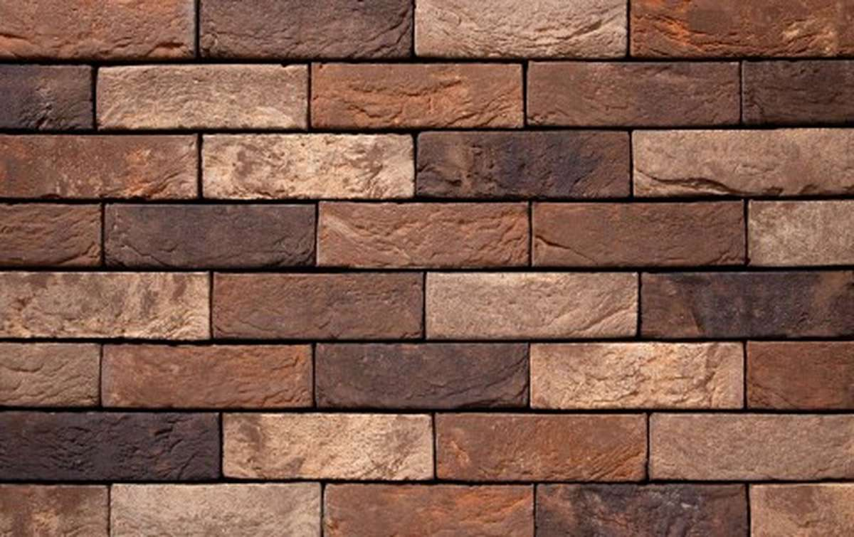 Фасадная плитка ручной формовки vandersanden  62. Sella, DF рядовая