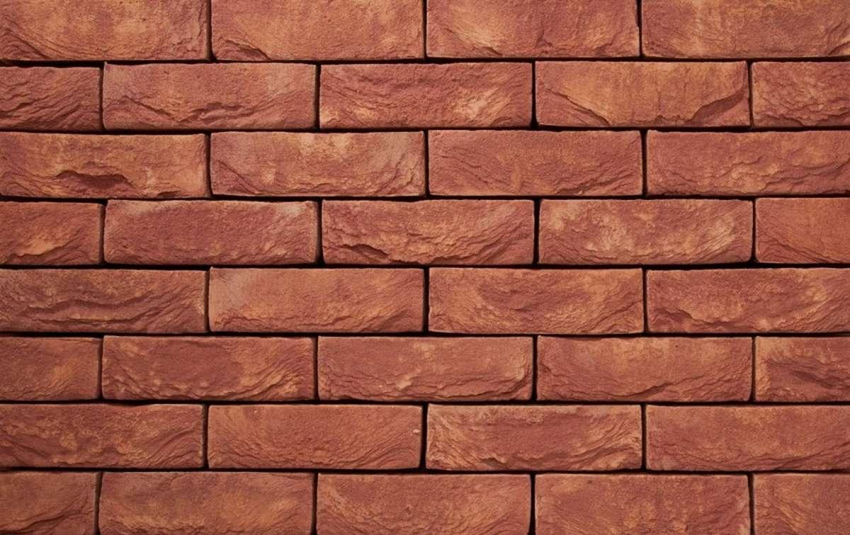 Фасадная плитка ручной формовки vandersanden  522. Bordeaux, WF рядовая