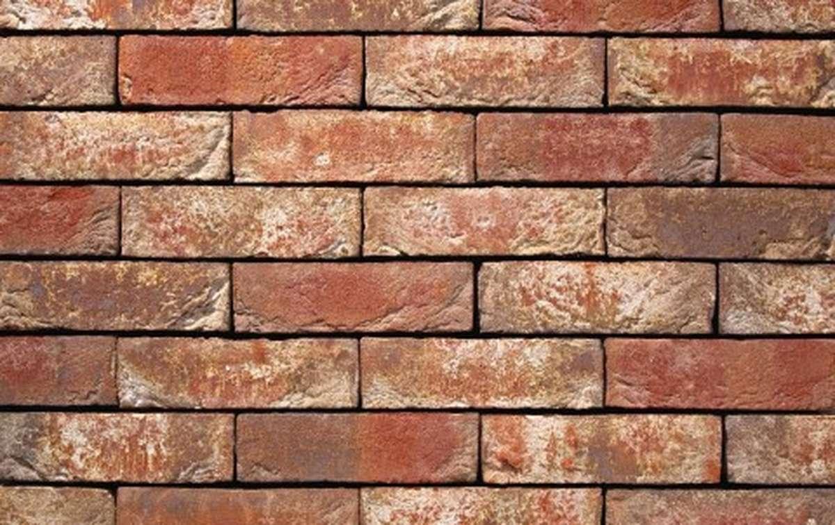 Фасадная плитка ручной формовки vandersanden  593. Leonora, NF рядовая