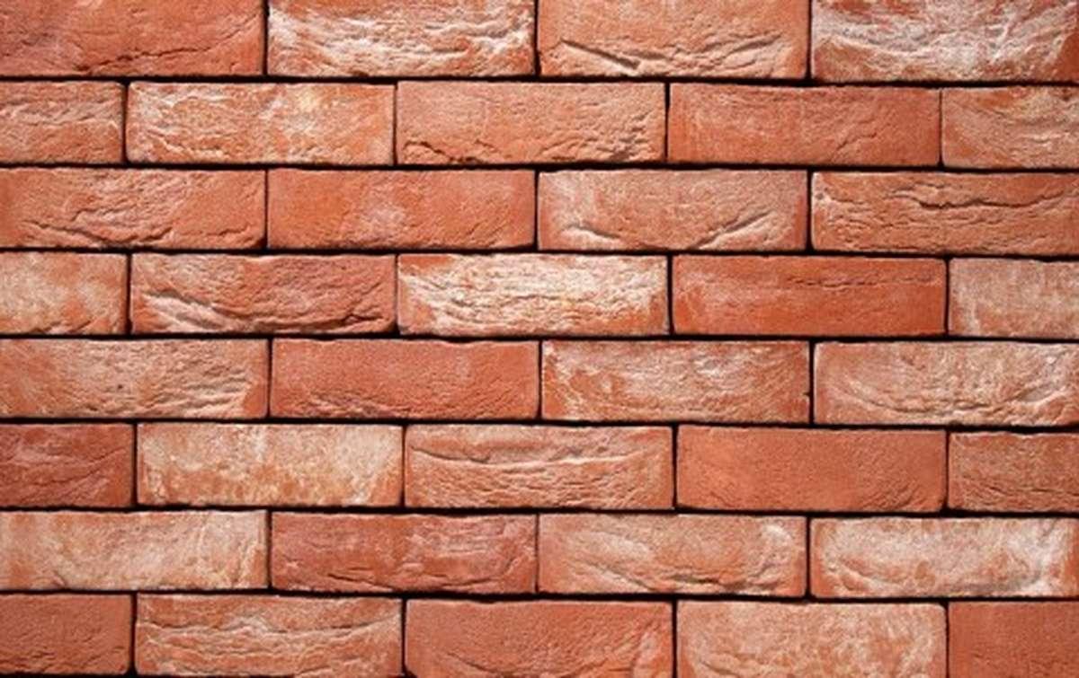Фасадная плитка ручной формовки vandersanden  63. Cayenne, М50 рядовая
